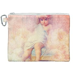 Baby In Clouds Canvas Cosmetic Bag (xxl) by vintage2030
