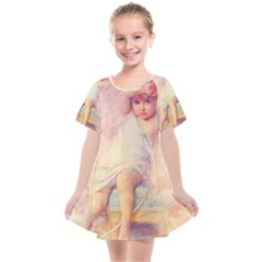 Baby In Clouds Kids  Smock Dress