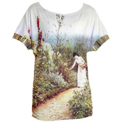 Lady And Scenery Women s Oversized Tee by vintage2030