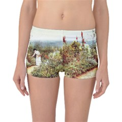 Lady And Scenery Boyleg Bikini Bottoms by vintage2030