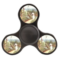 Lady And Scenery Finger Spinner by vintage2030