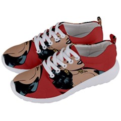 Comic Girl Men s Lightweight Sports Shoes by vintage2030