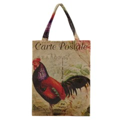Rooster Classic Tote Bag by vintage2030