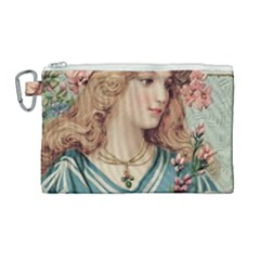Lady Canvas Cosmetic Bag (large) by vintage2030