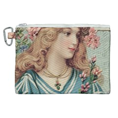 Lady Canvas Cosmetic Bag (xl) by vintage2030