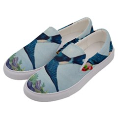 Blue Bird Men s Canvas Slip Ons by vintage2030
