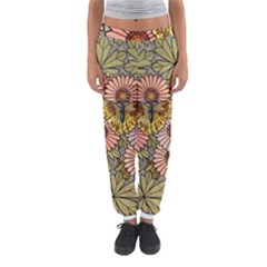 Flower And Butterfly Women s Jogger Sweatpants
