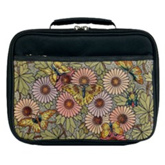 Flower And Butterfly Lunch Bag by vintage2030