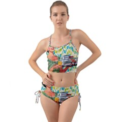 Retro Cokk Mini Tank Bikini Set