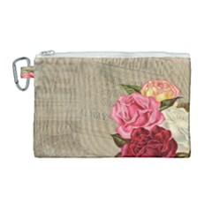 Flower 1646069 960 720 Canvas Cosmetic Bag (large) by vintage2030