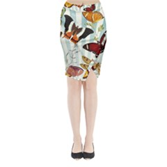 Butterfly 1064147 960 720 Midi Wrap Pencil Skirt