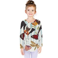 Butterfly 1064147 960 720 Kids  Long Sleeve Tee