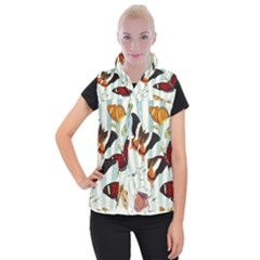 Butterfly 1064147 960 720 Women s Button Up Vest