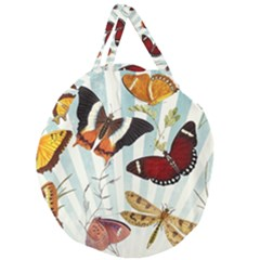 Butterfly 1064147 960 720 Giant Round Zipper Tote