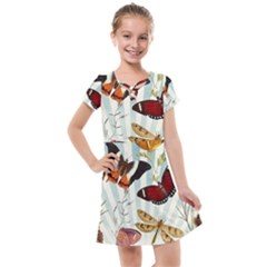 Butterfly 1064147 960 720 Kids  Cross Web Dress by vintage2030