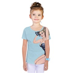Retro 1107640 960 720 Kids  One Piece Tee