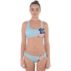 Retro 1107640 960 720 Cross Back Hipster Bikini Set