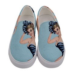 Retro 1107640 960 720 Women s Canvas Slip Ons