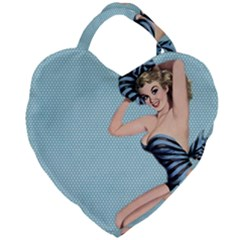 Retro 1107640 960 720 Giant Heart Shaped Tote by vintage2030