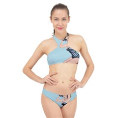 Retro 1107640 960 720 High Neck Bikini Set
