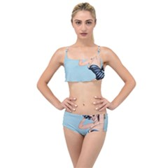 Retro 1107640 960 720 Layered Top Bikini Set