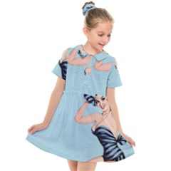 Retro 1107640 960 720 Kids  Short Sleeve Shirt Dress