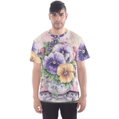 Lowers Pansy Men s Sports Mesh Tee