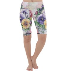 Lowers Pansy Cropped Leggings