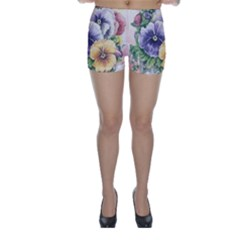 Lowers Pansy Skinny Shorts