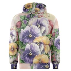Lowers Pansy Men s Pullover Hoodie