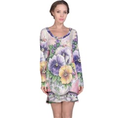 Lowers Pansy Long Sleeve Nightdress