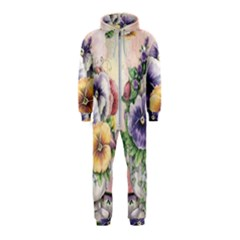 Lowers Pansy Hooded Jumpsuit (kids)