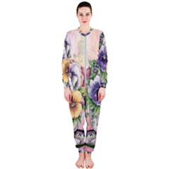 Lowers Pansy Onepiece Jumpsuit (ladies)
