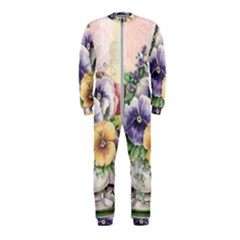 Lowers Pansy Onepiece Jumpsuit (kids)