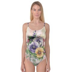 Lowers Pansy Camisole Leotard