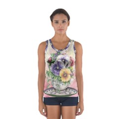 Lowers Pansy Sport Tank Top