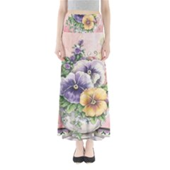 Lowers Pansy Full Length Maxi Skirt