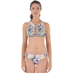 Lowers Pansy Perfectly Cut Out Bikini Set