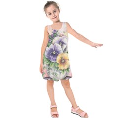 Lowers Pansy Kids  Sleeveless Dress