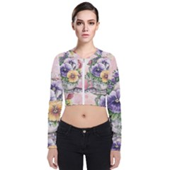 Lowers Pansy Zip Up Bomber Jacket