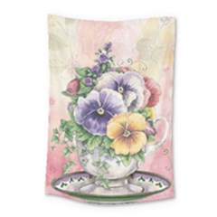 Lowers Pansy Small Tapestry