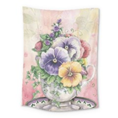 Lowers Pansy Medium Tapestry