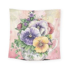 Lowers Pansy Square Tapestry (small)