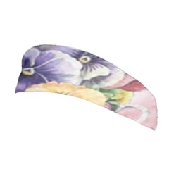Lowers Pansy Stretchable Headband