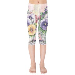 Lowers Pansy Kids  Capri Leggings