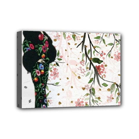 Background 1426655 1920 Mini Canvas 7  X 5  (stretched)
