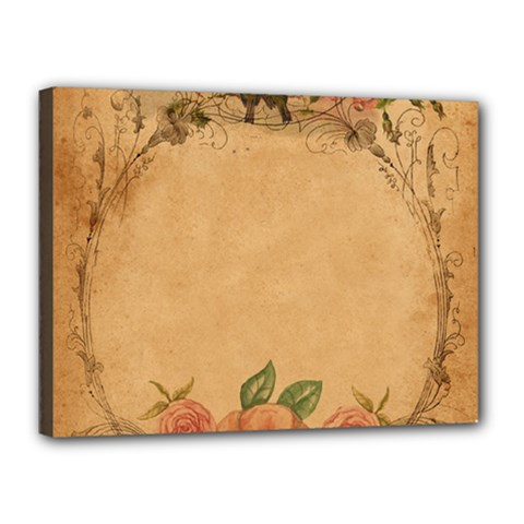 Background 1365750 1920 Canvas 16  X 12  (stretched) by vintage2030