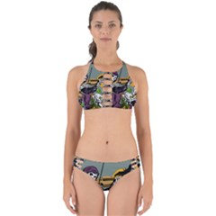 Playing Skeleton Perfectly Cut Out Bikini Set