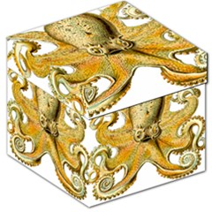 Gold Octopus Storage Stool 12