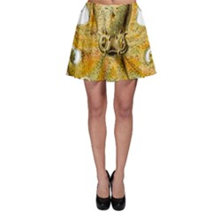 Gold Octopus Skater Skirt